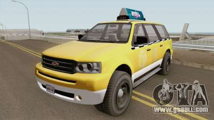 Vapid Prospector Taxi V2 GTA V for GTA San Andreas