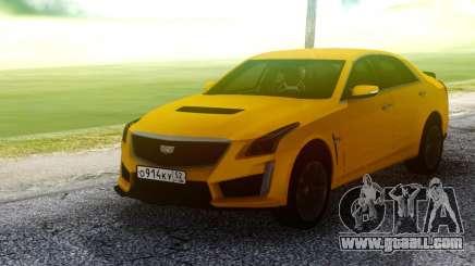 Cadillac CTS-V Orange for GTA San Andreas