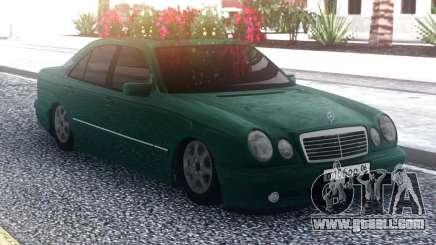 Mercedes-Benz E55 Green Sedan for GTA San Andreas