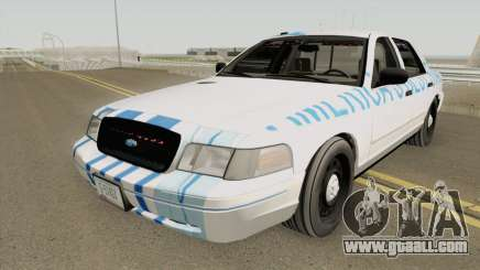 Ford Crown Victoria 2011 Slicktop SASP RCPM for GTA San Andreas