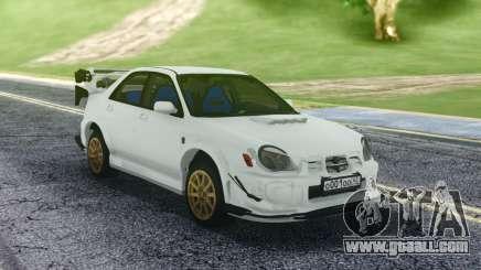 Subaru WRX STI Sedan for GTA San Andreas