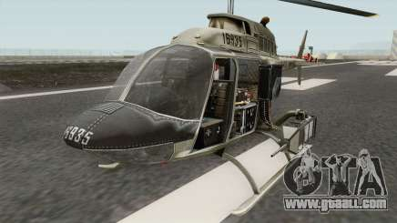 Bell OH-58A Kiowa for GTA San Andreas