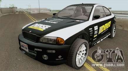 Ubermacht Sentinel Retro GTA V for GTA San Andreas