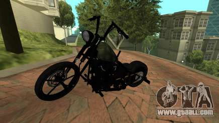 Harley Davidson 110cid Night Train for GTA San Andreas