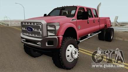 Ford Super Duty MegaCAB for GTA San Andreas