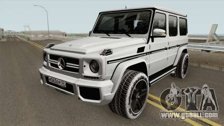 Mercedes-Benz G65 AMG High Quality for GTA San Andreas