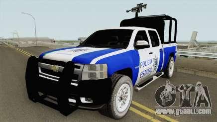 Chevrolet Silverado Policia Estatal Tamaulipas for GTA San Andreas
