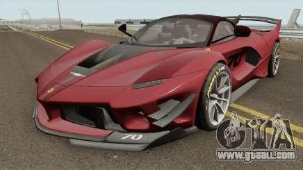 Ferrari FXX-K Evo 2018 for GTA San Andreas