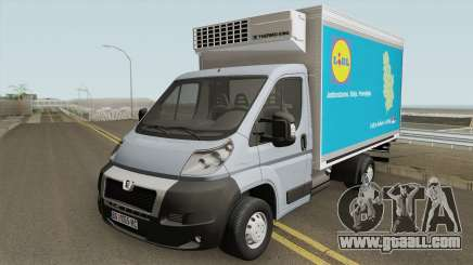 Peugeot Boxer Lidl Worker for GTA San Andreas