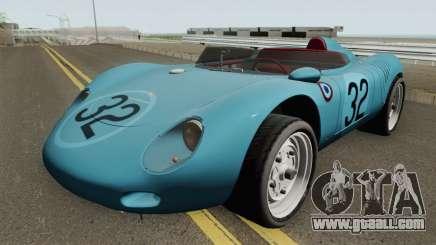 Porsche 718 RSK 1959 for GTA San Andreas
