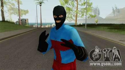 PS2 LCS Beta Toni Outfit 3 for GTA San Andreas