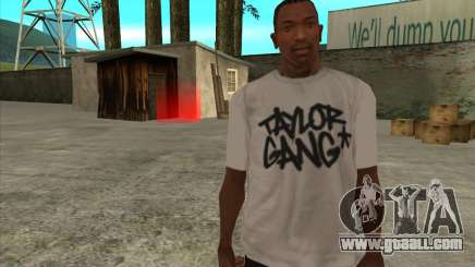 T-Shirt Ghost for GTA San Andreas