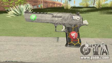 Desert Eagle (Special Troop) for GTA San Andreas