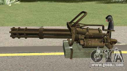 M-134 Minigun Desert Ops Camo for GTA San Andreas