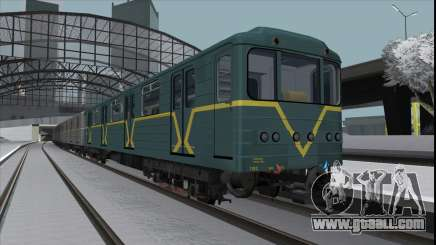 Metrovagon Ема502 7182 Kiev for GTA San Andreas
