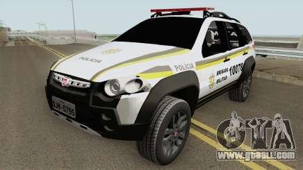 Fiat Palio Weekend Locker Patamo V2 for GTA San Andreas