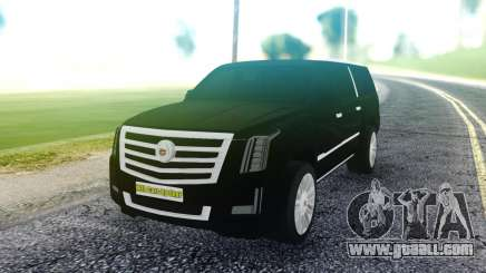 Cadillac Escalade Pure Black for GTA San Andreas