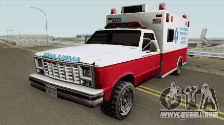Gta Sa Ambulance for GTA San Andreas