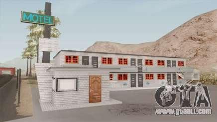 Motel Retextured for GTA San Andreas