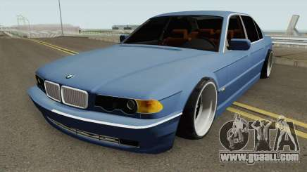 BMW E38 750iL SlowDesign 1999 for GTA San Andreas