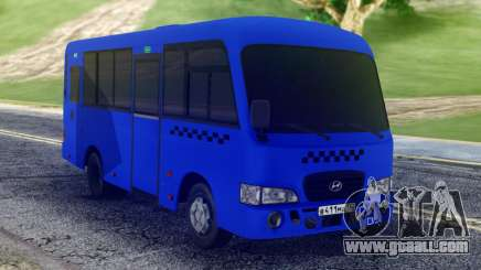 Hyundai County SWB Bus for GTA San Andreas
