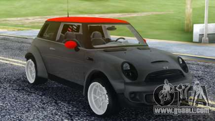 Mini Cooper S Red Roof for GTA San Andreas