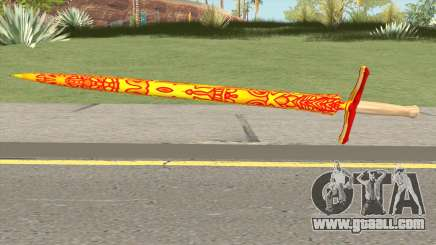 Dragon Sword for GTA San Andreas