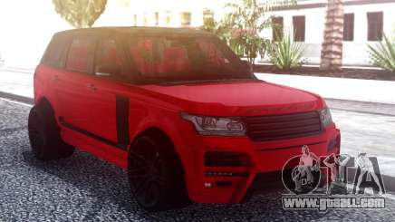 Range Rover Vogue L405 Startech Red for GTA San Andreas