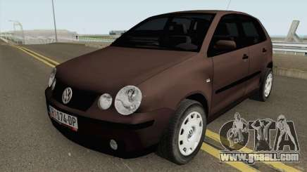 Volkswagen Polo Mk4 2002 for GTA San Andreas