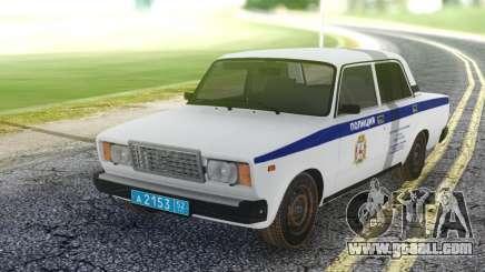 2107 PDL local Police representative for GTA San Andreas