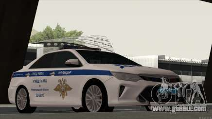 Toyota Camry 2015 traffic police for GTA San Andreas