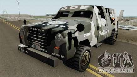 Swatvan COE-SP (GATE-MG) TCGTABR for GTA San Andreas