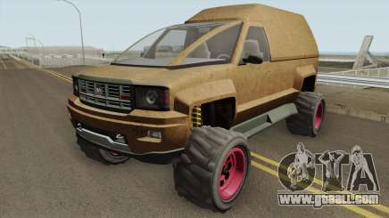 Declasse Brutus Stock GTA V for GTA San Andreas