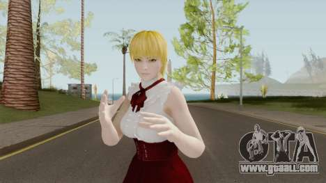 Ayane High Society Blonde for GTA San Andreas