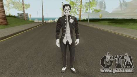 Papa Emeritus lll From Ghost Band for GTA San Andreas