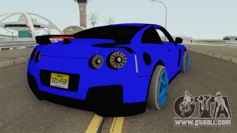 Nissan GT-R 2010 Catalina Tuning for GTA San Andreas