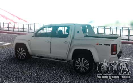 Volkswagen Amarok for GTA San Andreas