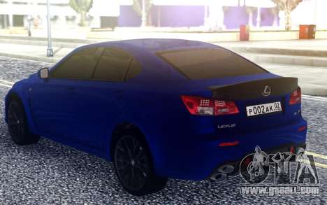 Lexus IS-F for GTA San Andreas