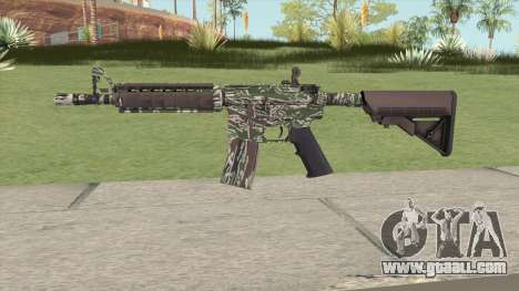 CS-GO M4A4 Jungle Tiger for GTA San Andreas