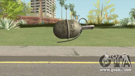 Insurgency MIC RGD-5 Grenade for GTA San Andreas