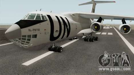 Ilyushin Il-76TD United Nations for GTA San Andreas