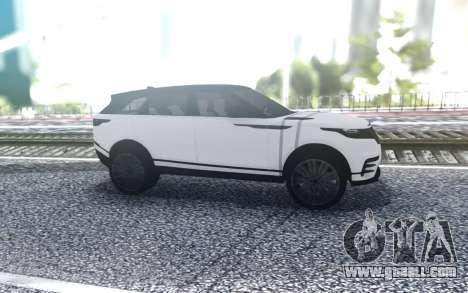 Range Rover Velar for GTA San Andreas