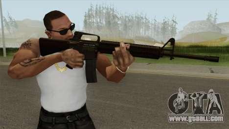 M16A2 Full Desert Camo (Ext Mag) for GTA San Andreas