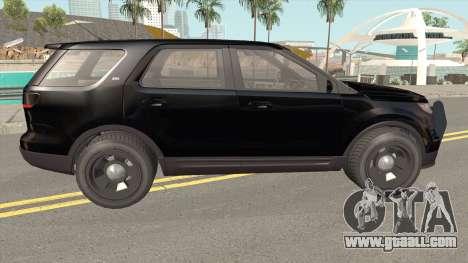 Vapid Police Cruiser Unmarked GTA V for GTA San Andreas