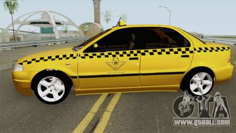 IKCO Samand Soren Taxi for GTA San Andreas