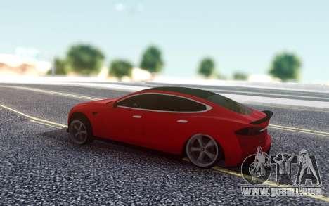 Tesla Model S Stance for GTA San Andreas