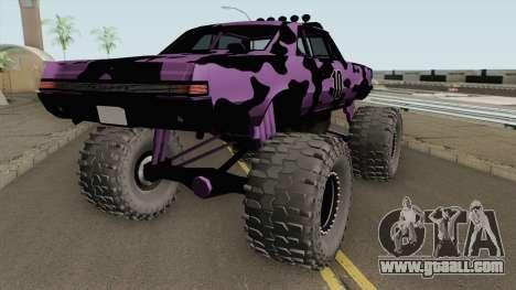 Pontiac GTO Monster Truck Camo 1965 for GTA San Andreas