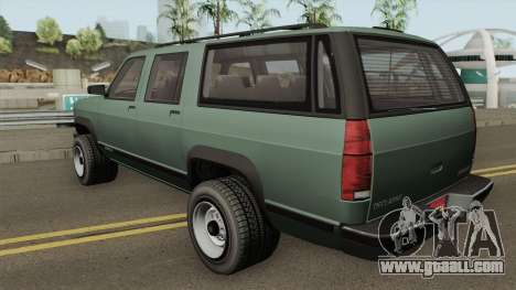 Declasse Granger 3500LX Retro for GTA San Andreas