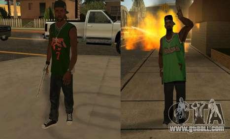 Fam 3 HD for GTA San Andreas