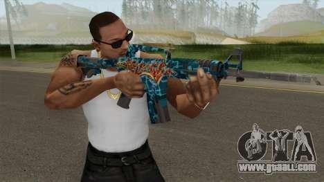 CS:GO M4A1 (Silence Skin) for GTA San Andreas